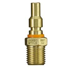 "PowerFit 1 / 4"" Jamec Style Male Plug Air Tool Fitting"
