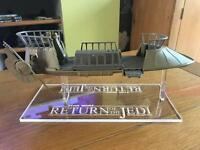 1 x Acrylic Display STAND -  Vintage Star Wars - Kenner Skiff (STAND ONLY)