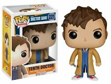 Funko Pop TV Doctor Who Tenth Doctor Vinyl Action Figure Collectible Toy 221