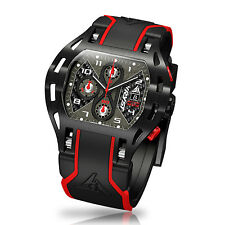 Carbon Fiber Luxury Watch Wryst Motors MS3 Swiss Made Inspired by Motorsports