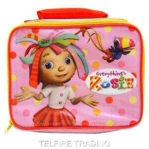 EVERYTHINGS ROSIE INSULATED DELUXE LUNCH BAG COOL NURSERY SCHOOL PICNIC GIRLS
