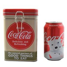 Coca-Cola collectible tin can