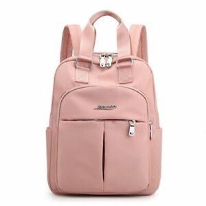 Large Capacity Backpack Bag School Travel Shoulder Satchel Multi Pocket Rucksack