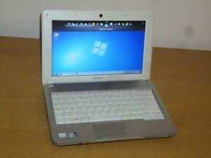 "Sony Vaio VPCM11 10.1"" Netbook Windows 7 250gb 1gb Office Factory Reset Warranty"
