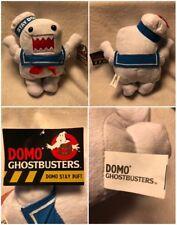 "Nwt Ghostbusters Domo Stay Puft Marshmallow Man Plush 11"" Kellytoy Free Ship"