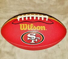 Wilson San Francisco 49ers Junior Size Red & Gold Football - Great Condition
