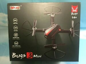 MJX Bugs 3 Mini Drone 175mm Wheelbase Brushless Motors Angle and Acro Mode RTF