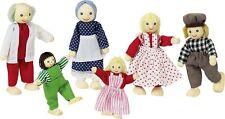 Goki Biegepuppen aus Holz Puppenhaus Spielzeug Puppe Puppen