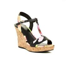 Charles By Charles David Multicolored Wedge Sandals Open Toe Platform 12M