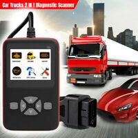I10 2IN1 Auto LKW Diagnose OBD2 CAN BUS Diagnosewerkzeug Codeleser Scanner V500