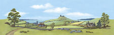 """PECO SK-23 Large Country/Seascape Scenic Background 228mm x 737mm (9""""x29"""") T48 P"""