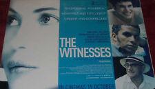 Cinema Poster: WITNESSES, THE 2007 (Quad) Emmanuelle Béart