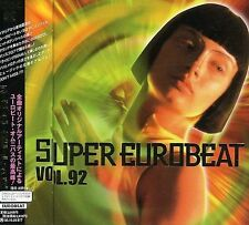 VARIOUS ARTISTS - SUPER EUROBEAT, VOL. 92 NEW CD