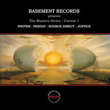 """2 x 12"""" UK drum 'n' bass ** the Masters Series: canvas 1 (Basement Records) ** 4727"""