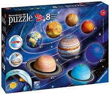 Planetensystem 3D Sonderformen 522 Teile 3D Puzzle Ravensburger