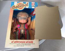VINTAGE#Furga Babisol Sun & Beach Doll Mib#Si Abbronza Al Sole#NIB