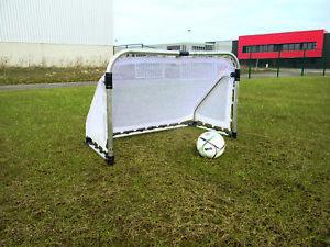 Aluminium Fußballtor Faltbar + Netz Fußball Tor Garten 155x95 cm NEU