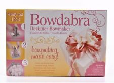 New listing New Bowdabra Designer Bow maker Crafting make your own bow craft making