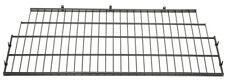Suncast Black Metal Wire Shelf