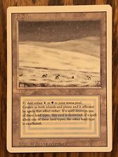 MTG Dual Land Tundra, Revised, Magic The Gathering, Great Condition NM
