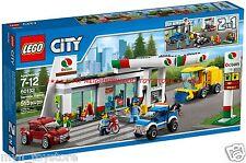 RETIRED PRONTA CONSEGNA - LEGO 60132 CITY STAZIONE DI SERVIZIO SERVICE STATION
