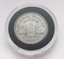 1943 ONE FRANC FRANCE ALUMINUM COIN FREE SHIPPING