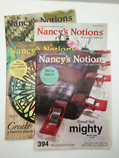 Vintage  Nancy Notions catalogs 2016-2017