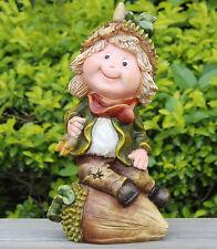 Zwerg  Design 26 cm Hoch  Garten Gartenzwerg Figuren Dekoration 13275 - 1