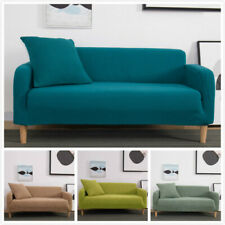 Solid Knit Thicken Sofa Cover All-inclusive Stretch Slipcover Couch Cover Modern