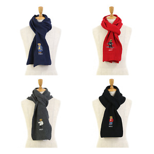 Polo Ralph Lauren Bear Scarf -- 4 colors --
