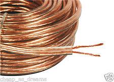 20M 2X 4MM Cable De Alambre Grueso Altavoz Super Alta Calidad Ofc 2X 40 Hilos