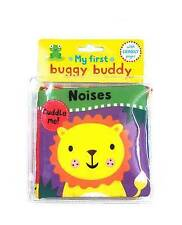 My First Buggy Baby Cloth Book Gift With Crinkly Pages - Noises