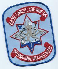 Chincoteague International weather patrol patch Chincoteque, VA. 6-3/4X5-1/8