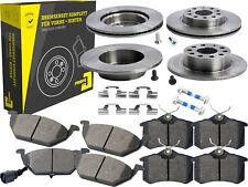 4 Bremsscheiben + Beläge Vorne & Hinten Audi A3 Seat Altea Toledo Skoda VW