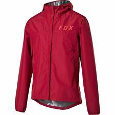 Fox Ranger 2.5L Agua Lluvia Chaqueta Impermeable Transpirable Rojo Oscuro Chile