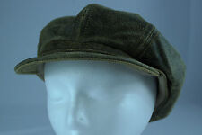Vintage Genuine Leather 8/4 Pageboy/Gatsby/Driving Hat Made in USA Size L EUC