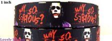 1 metre, THE DARK KNIGHT, 25mm, Ribbon, 1 inch, Batman, The Joker, Suicide Squad