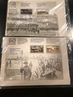 150th Anniversary THE CIVIL WAR Set:1861, 1862, FOREVER STAMPS SEALED