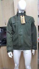Revive del dril de algodón chaqueta de abrigo para hombre increíble Tamaño: L