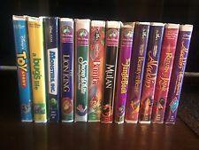 Classic Disney Movies VHS Set of 12