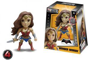 "Metals Batman v Superman 4"" Die-Cast Fig. M7 Wonder Woman Jada Toys Fig.#11 6/21"