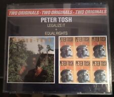 Peter Tosh – Legalize It / Equal Rights 2XCd 1990 Box Double Jewel Case EX/NM