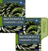 IB Mathematics Standard Level Print and Online Course Book Pack: Oxford IB Diplo