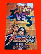 LARGE The King Of Fighters Arcade Video Game Banner Flag Poster FREE SHIPPING