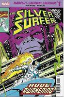 Silver Surfer Comic Issue 1 Rude Awakening Marvel's Greatest Creators Reprint