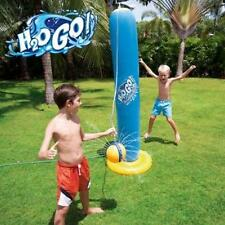 Water Sprinkler Tether Ball Fun, Durable, Colorful, Inflatable Kids Toddlers