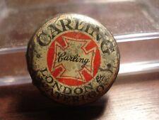 Carling London & Waterloo - Canadian cork beer bottle cap - Canada Crown
