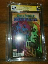 Black Panther World of Wakanda 1 1:25 Stelfreeze CGC 9.2 SS Afua Richardson NM-