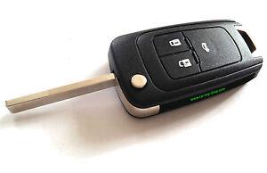 3-Tasten Klapp-Schlüssel für OPEL Insignia Astra J/K Meriva B Mokka Gehäuse key