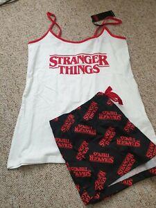 Netflix Stranger Things Cami & Shorts Pyjama Set Pyjamas Primark